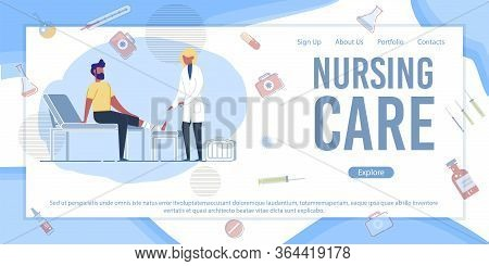 Preparation For Medical Exams. Medical Healthcare Banner. Woman Doctor Studying Xray On Computer Scr