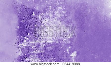 Patchy Purple And White Texture Metal 16:9 Panoramic Format Background