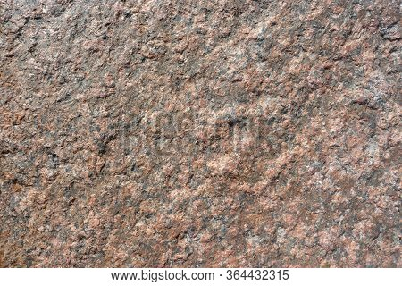 Natural Untreated Granite Stone Surface For Background