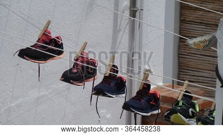 On Line Trainers In Andalusian Village Terrace