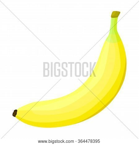Banana Vector Icon.cartoon Vector Icon Isolated On White Background Banana.