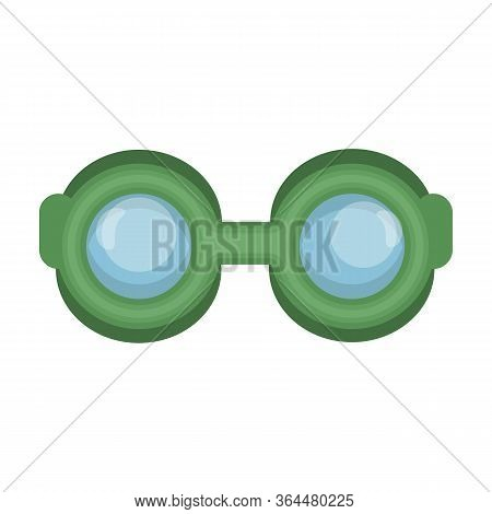 Diver Glasses Vector Icon.cartoon Vector Icon Isolated On White Background Diver Glasses.