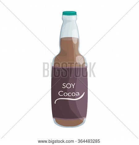 Soy Cocoa Vector Icon.cartoon Vector Icon Isolated On White Background Soy Cocoa.