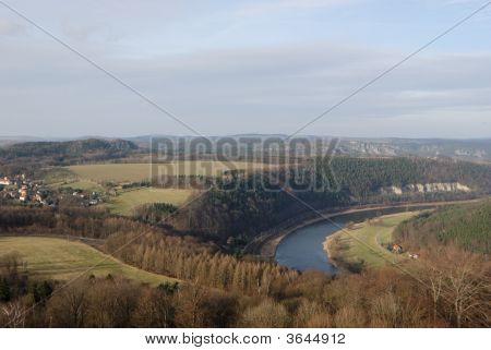 Aerial View Of Saxonia