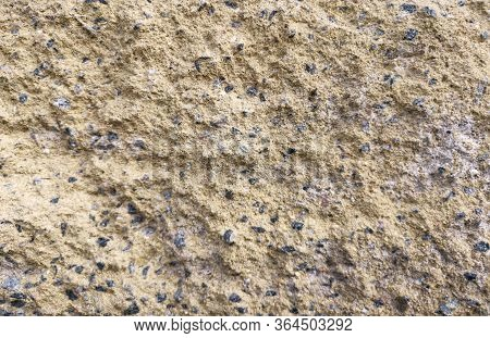 Stone Texture Yellow And Gray. Fon. Beautiful Background. Banner.