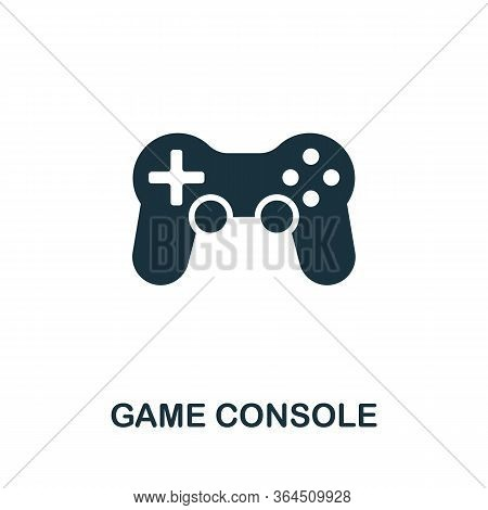 Game Console Icon From Video Games Collection. Simple Line Game Console Icon For Templates, Web Desi