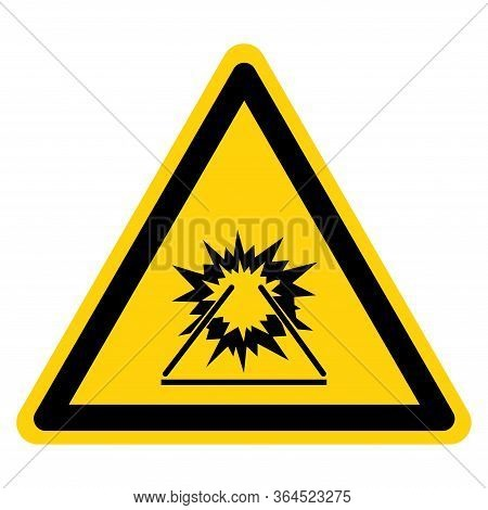 Warning Welding Arc Symbol Sign ,vector Illustration, Isolate On White Background Label. Eps10