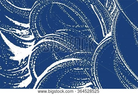 Grunge Texture. Distress Indigo Rough Trace. Exceptional Background. Noise Dirty Grunge Texture. Imm