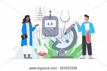 Healthcare, Modern Medicine Treatment, Expertize, Diagnostic. Medical Specialist