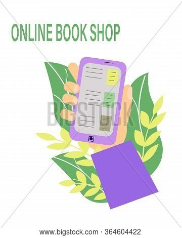 Line Bookstore, Great Design For Any Purposes. Technology Background Vector.line Bookstore White Bac