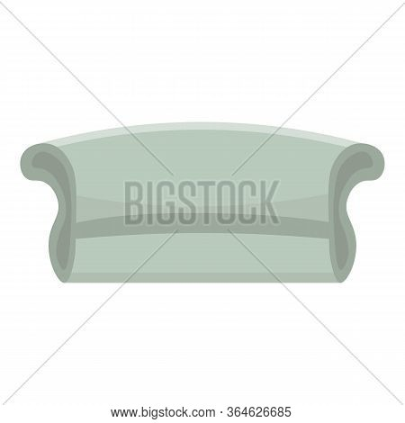 Modern Room Sofa Icon. Cartoon Of Modern Room Sofa Vector Icon For Web Design Isolated On White Back