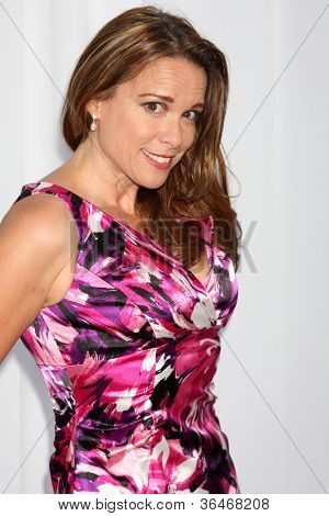 LOS ANGELES - AUG 18:  Chase Masterson arrives at the 17th Annual Angel Awards at Project Angel Food on August 18, 2012 in Los Angeles, CA