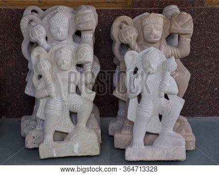 Jabalpur, Madhya Pradesh/india : January 28, 2020 - Statue Of Hanuman