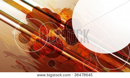 Futuristic vector background for your text
