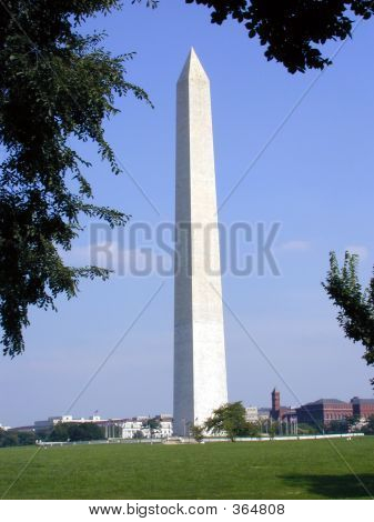 Washington Monument With Smithsonian