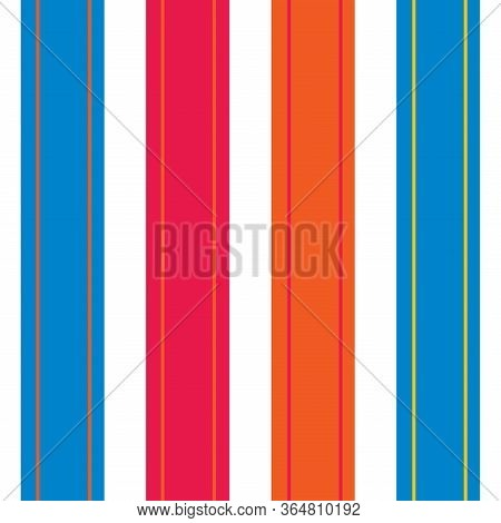 Vertical Stripes Seamless Pattern. Cool Lines Endless Design. Autumn Winter Business Suit Vertical L