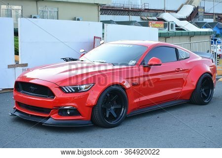 Pasig, Ph - May 18 - Ford Mustang On May 18, 2019 In Pasig, Philippines.