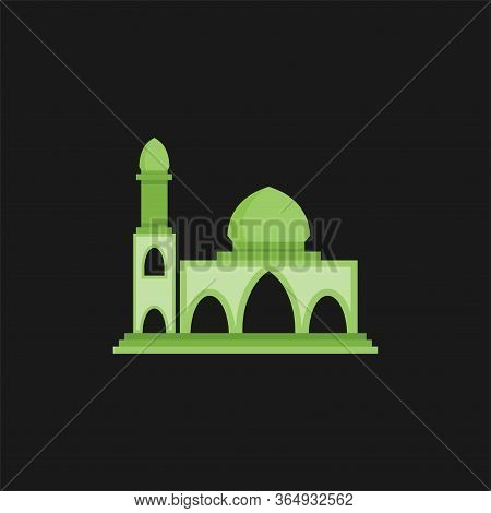 Mosque Building Icon. Mosque Vector Image. Mosque Icon Trendy. Modern Mosque Symbol For Logo, Web, S