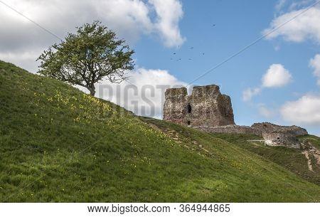 Kalo Castle Is A Historic Ruined Castle Located In Eastern Jutland, Djursland, Denmark. It Was Built