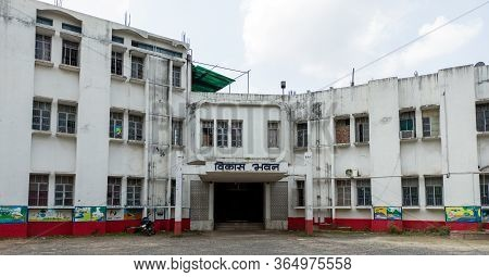 Katihar/bihar/india-05/06/2020; Vikas Bhawan Katihar 854105. In Front Of District Registration Offic