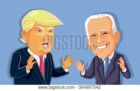 Ny¸ Usa, May 7, Donald Trump Versus Joe Biden