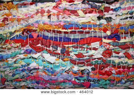 Multicolored Woven Piece