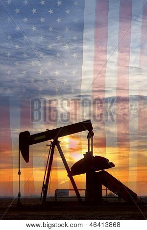American Oil Portrait