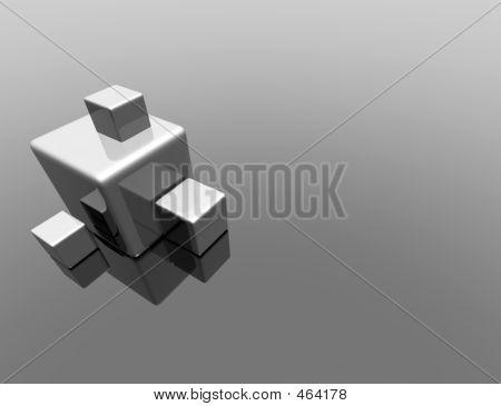 Metalic Cubes