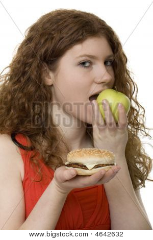 Fastfood Or Apple