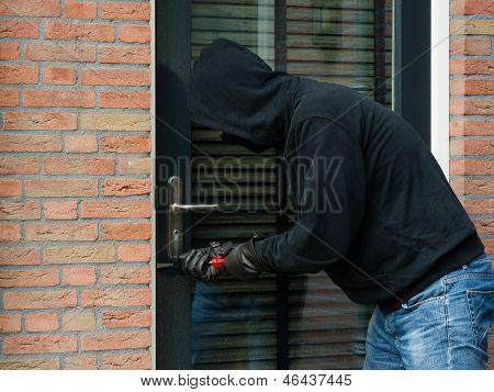 Thief With A Crowbar