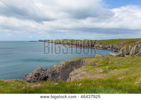 St Brides Bay Pembrokeshire UK