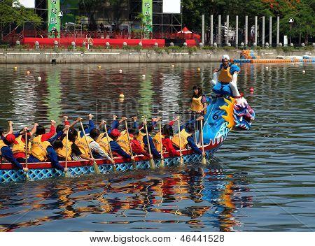 The 2013 Dragon Boat Festival In Taiwan