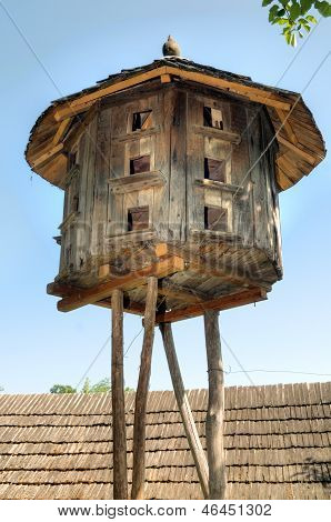 Old  Wooden Dovecote