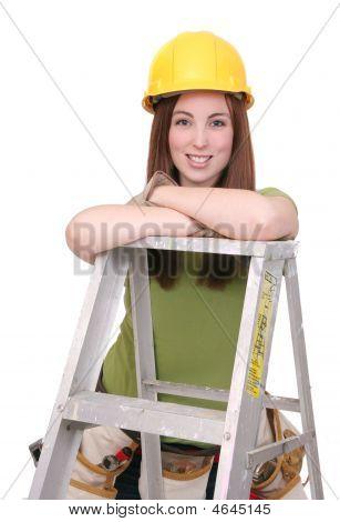 Construction Worker weiblich