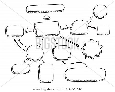 Flowchart Vector Illustration