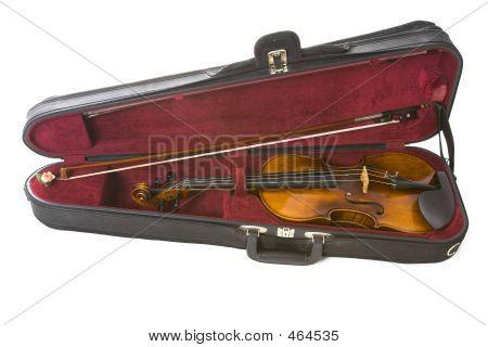 Violin In Case