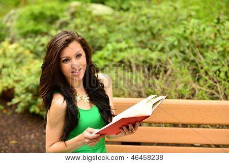 Pretty Girl Reading