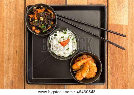 Asian Vegetarian Dish