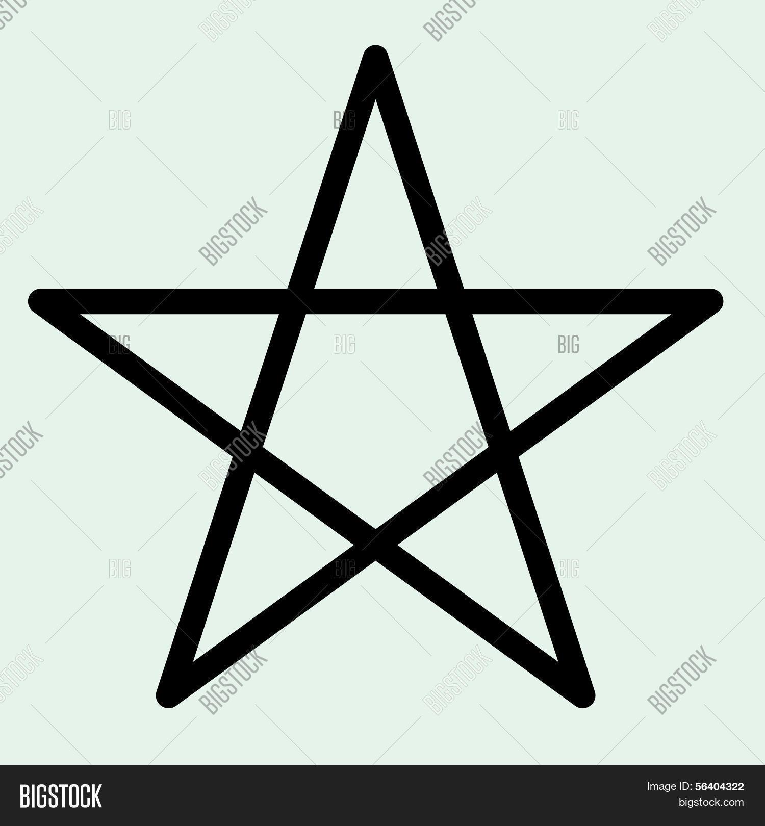 Star Symbol Vector Vector Photo Free Trial Bigstock
