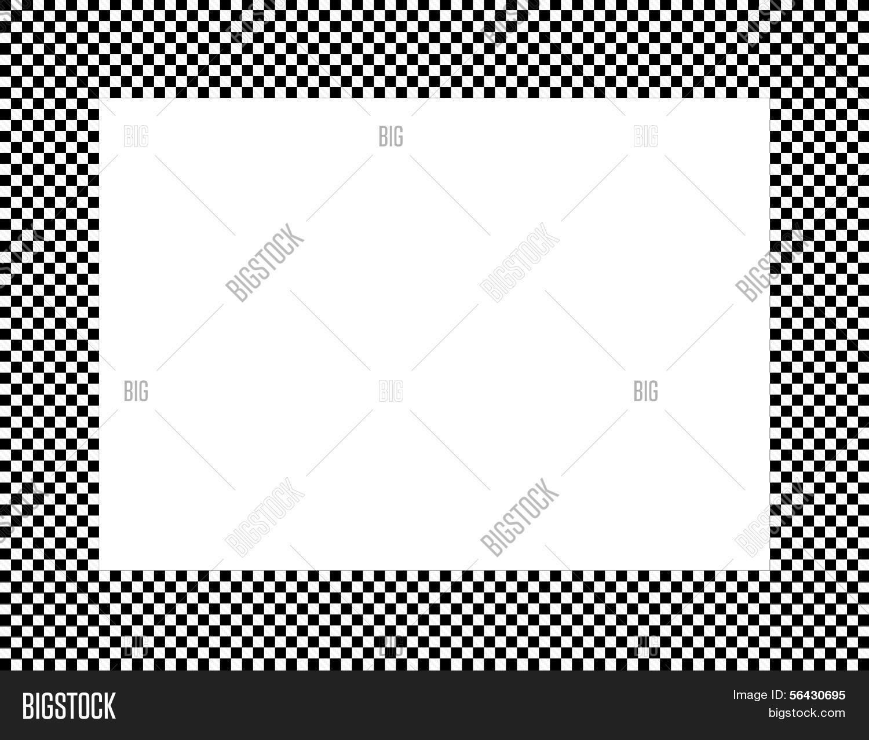 Black White Checkered Image Photo Free Trial Bigstock