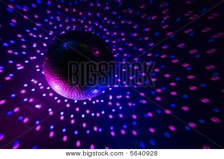 Disco Ball Purple - Blue