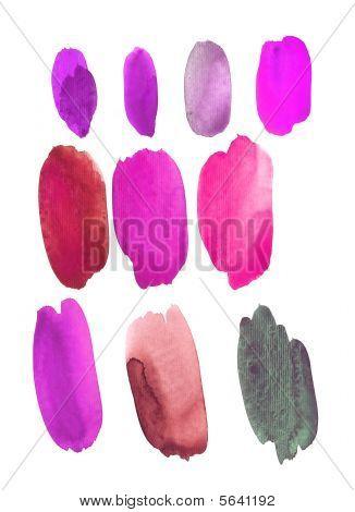 Watercolor Hot Palette
