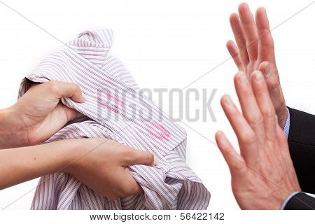 Husband Cought Redhanded