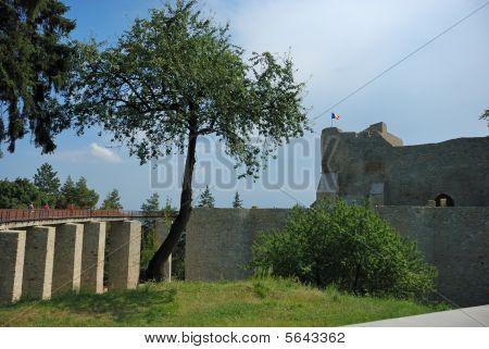 Neamt Fortress And Bridge