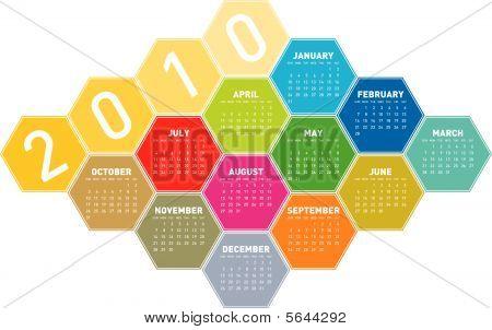Calendar for 2010