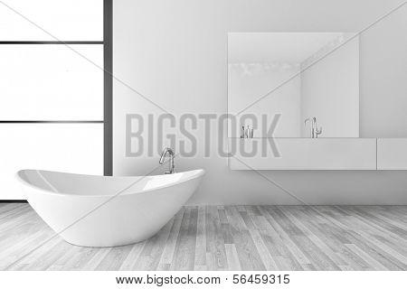 Beautiful Interior of a Modern Bathroom | Interior Architecture
