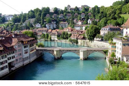 Bern , the capital of Switzerland.