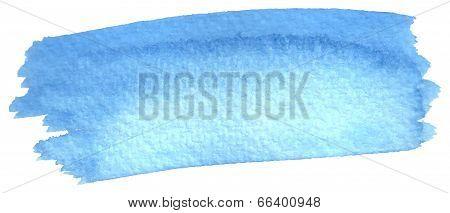 Watercolor Brushstroke As Background