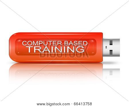 Computer Based Training Concept.