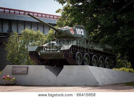 Legendary Russian Tank T-34